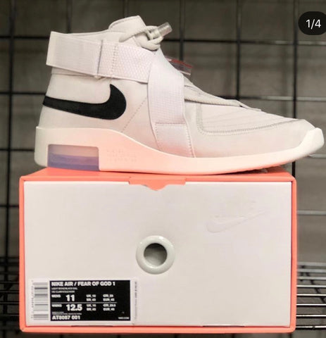 Ds Nike Air Fear of God Raid Light Bone