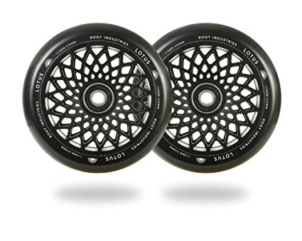 Root Industries- Lotus Pro Scooter Wheels 30mm/120mm- Black