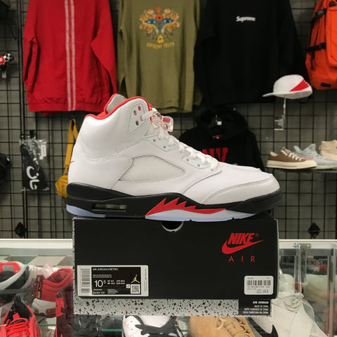 Ds Jordan 5 Retro Fire Red