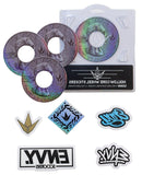 Envy Hallow Core Wheel stickers 110mm  (10 styles to choose from)