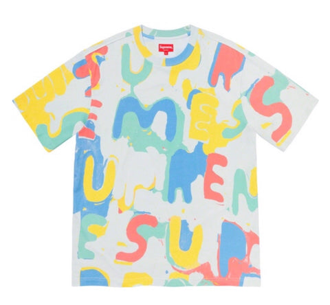 Supreme Painted Logo S/S Top