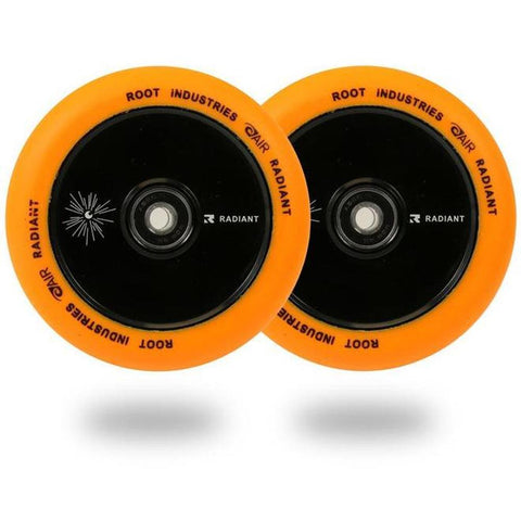 Root Industries Radiant Air Wheels 120mm- Orange
