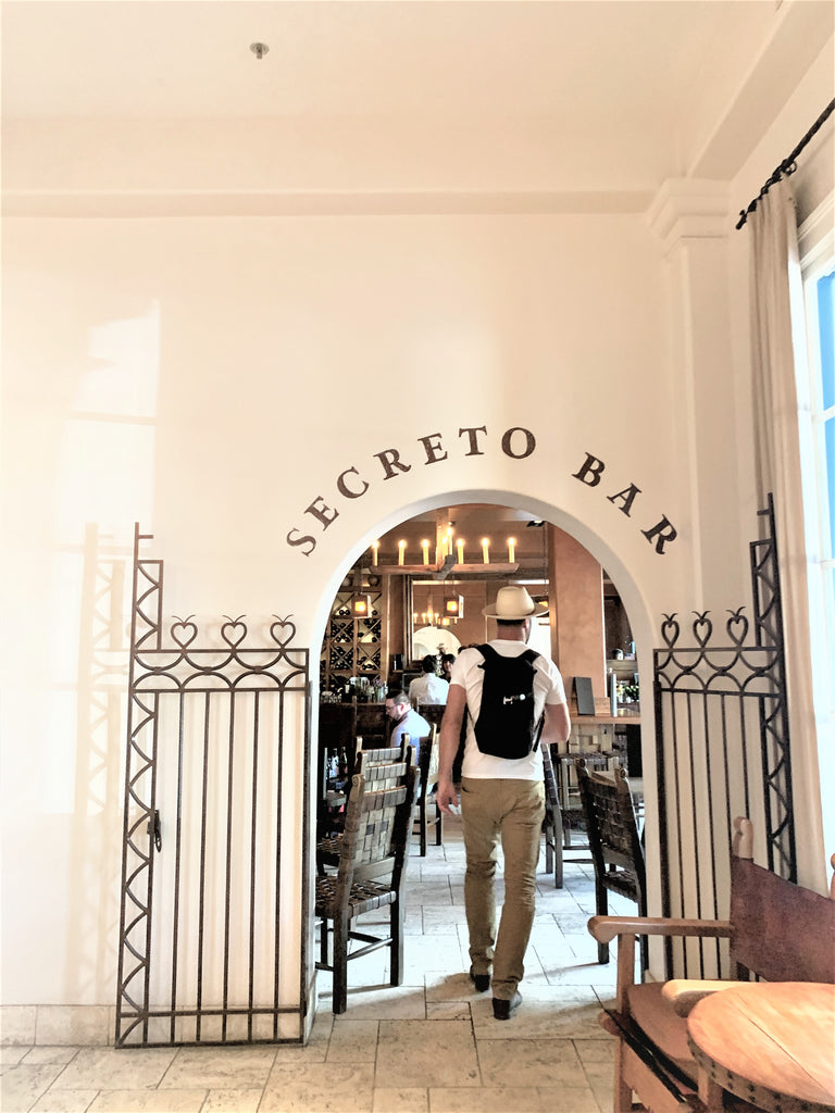 La Secreto Bar in the St. Francis Hotel, Santa Fe New Mexcico