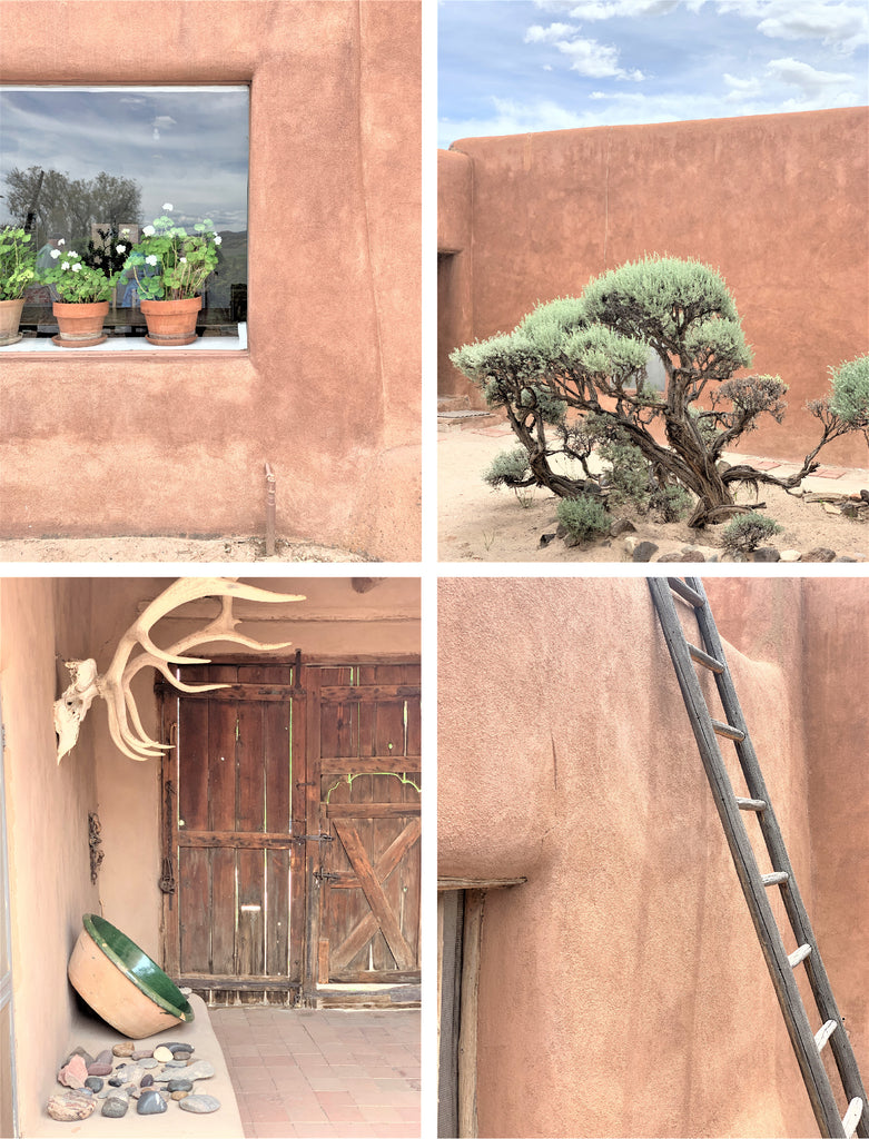 Georgia O'Keeffe's Home in Abiquiu New Mexico