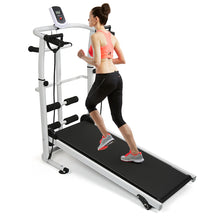 Load image into Gallery viewer, Clever  Home Fitness Treadmill Folding Mechanical Treadmill 3 in 1 Multifunction Silent Steppers Fitness Equipments Accessories HWC