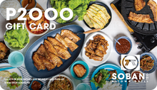 Load image into Gallery viewer, Soban K-Town Grill Gift Card
