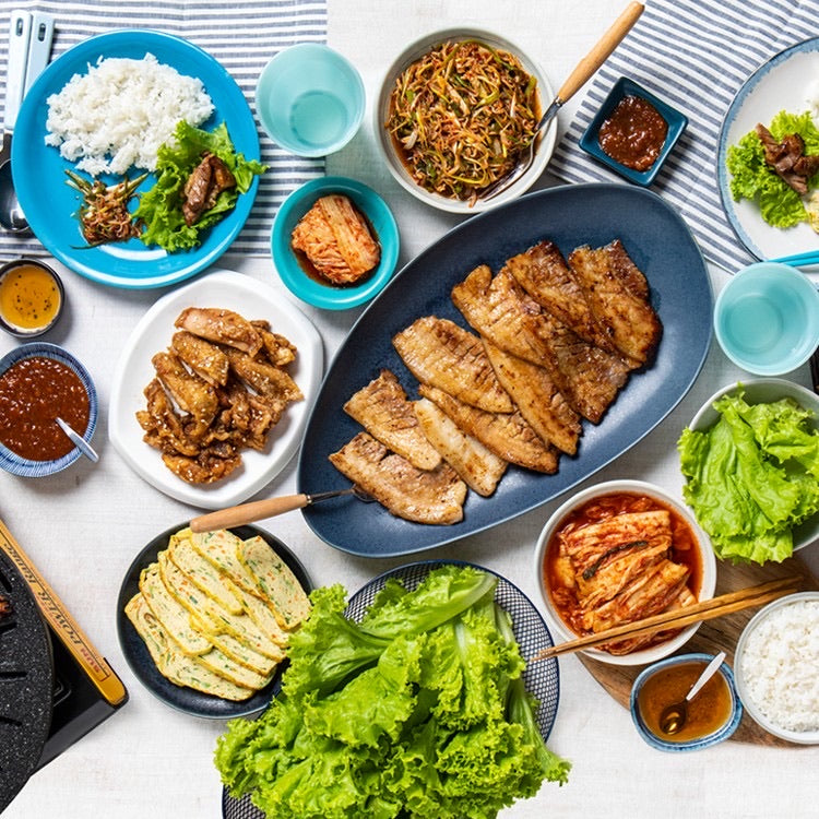 Delivery Deal BBQ Set for 4 persons