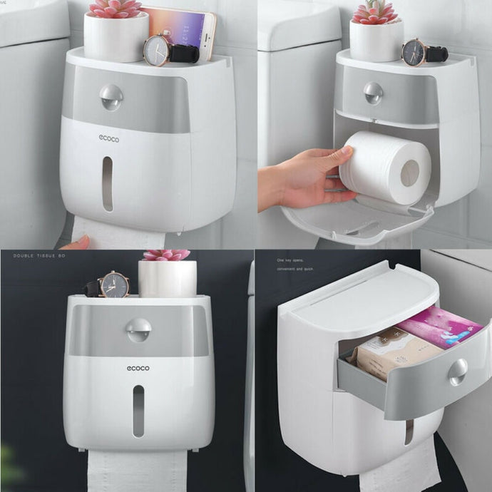 Waterproof Wall Mounted Toilet Roll Holders