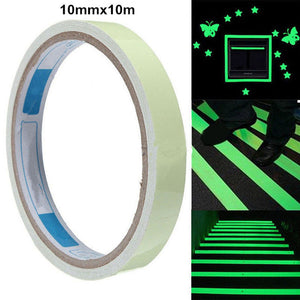 10M Luminous Tape Self-adhesive Glow In The Dark Sticker