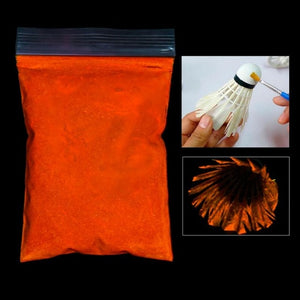 50g/Bag Photo-luminescent Powder Nail Glitter Bright Fluorescent Pigment