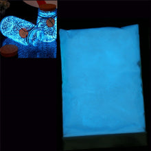 Load image into Gallery viewer, 50g/Bag Photo-luminescent Powder Nail Glitter Bright Fluorescent Pigment