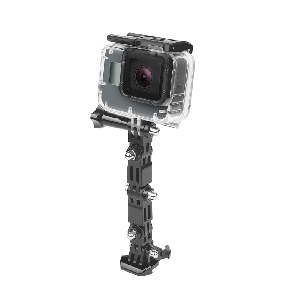 SHOOT Adjustment Base Mount for GoPro Hero 9 8 7 5 Xiaomi Yi 4k Sjcam Sj4000 Action Camera Tripod Helmet Belt Mount Accessory