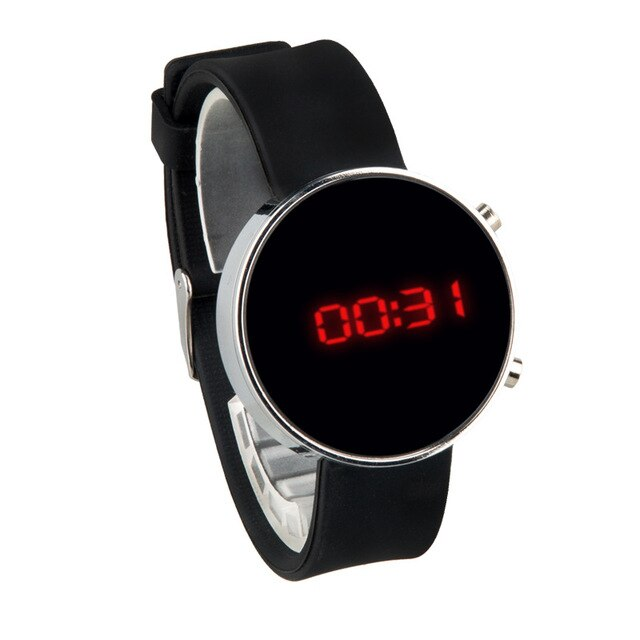Women Digital Watches LED Display Watch Women Clock Digital Watches For Ladies Band Silicone Wristwatch Relogio Feminino Digital