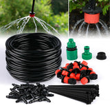25M DIY Drip Irrigation System Automatic Watering Irrigation System Kit Garden Hose Micro Drip Watering Kits Adjustable dripper