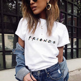 2020 New Harajuku Love Printed Women T-shirts Casual Tee Tops Summer Short Sleeve Female T shirt for Women Clothing