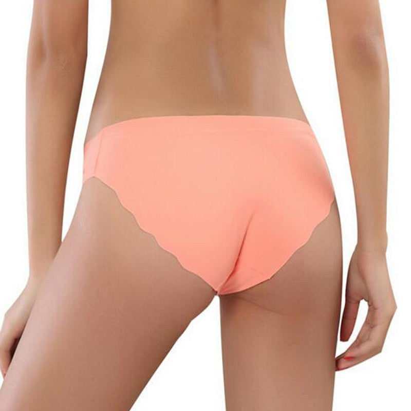 Hot Sale Fashion Women Seamless Panties Ultra-thin Underwear Comfort Intimates Sexy Lingerie Low-Rise Female briefs