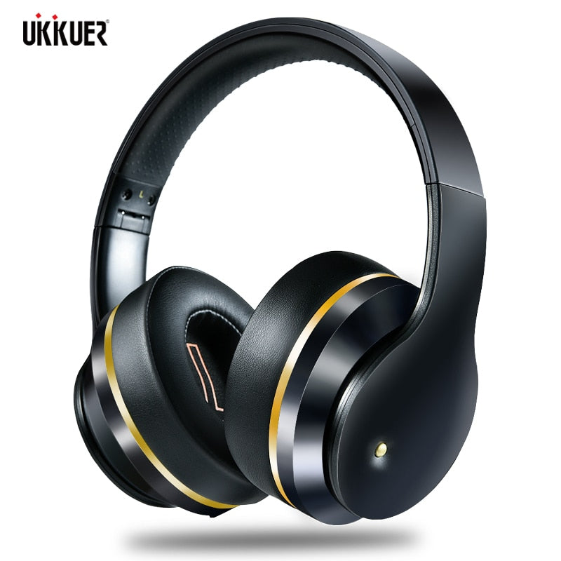 ANC Bluetooth Headphones Active Noise Cancelling Wireless Headset Foldable Hifi Deep Bass Earphones with Microphone for Music
