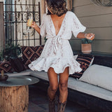 Summer Dress Women Vestidos Casual Tie Dye Clothing Robe Femme Chic Beach Dresses Chiffon Autumn Maxi Dress 2020 Woman Dress