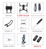 Eachine E58 RC Quadcopter Mini Drone WIFI FPV Profesional With 720P/1080P Wide Angle HD Camera Foldable Arm Racing Dron Toys