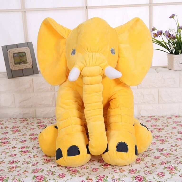 40/60CM Elephant Plush Pillow Infant Soft For Sleeping Stuffed Animals Toys Baby 's Playmate gifts for Children LKcomo