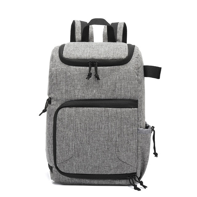 Multi-functional Waterproof Camera Bag Backpack Knapsack Large Capacity Portable Travel Camera Backpack for Outside Photography