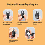 Wireless Bluetooth Camera Shutter Remote Control For Smartphones Amazing Photos And Selfies,  A02