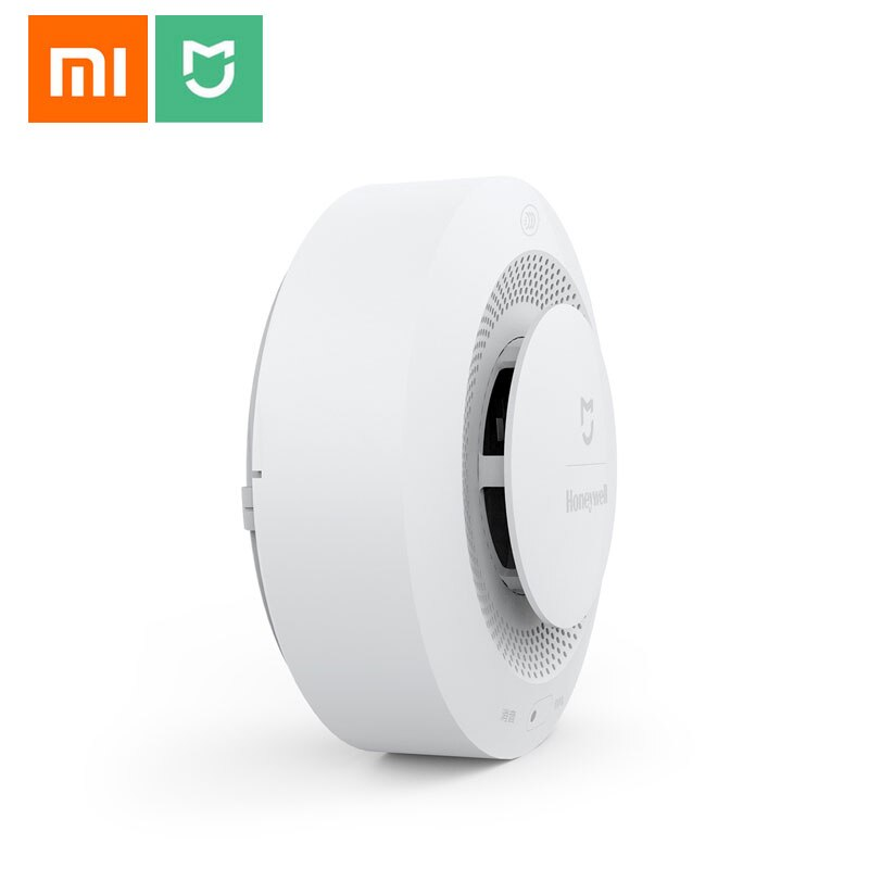 Xiaomi Mijia Honeywell Fire Alarm Smoke Sensor Gas Detector Work With Multifunction Gateway 2 Smart Home Security APP Control