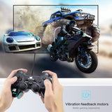 DATA FROG Vibration Joystick Wired USB PC Controller For PC Computer Laptop For WinXP/Win7/Win8/Win10 For Vista Black Gamepad