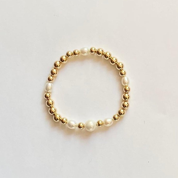 GOLD BEADS PEARL
