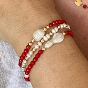 CORAL BEADS PEARL