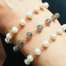 Load image into Gallery viewer, MARBELLA - ROSARY BRACELET