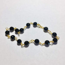 Load image into Gallery viewer, Black Onyx Rosary Bracelet