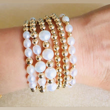 Load image into Gallery viewer, Pearl Ball Bracelet