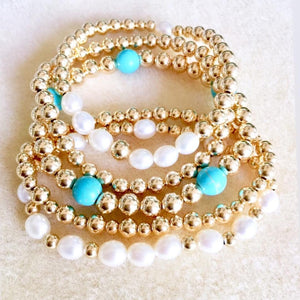 BEAD BALL - GOLD