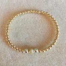 Load image into Gallery viewer, GOLD BEADS - CZ