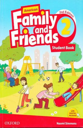 AMERICAN FAMILY & FRIENDS 2 STUDENT BOOK / 2 ED. | SIMMONS, NAOMI