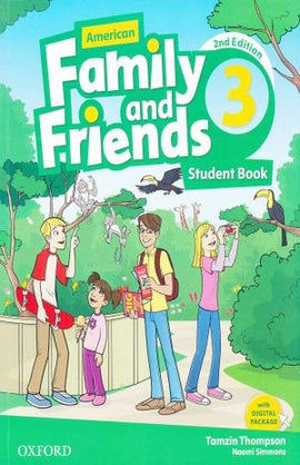 AMERICAN FAMILY & FRIENDS 3 STUDENT BOOK / 2 ED. | THOMPSON, TAMZIN