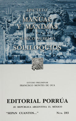 # 283. MANUAL Y MAXIMAS / SOLILOQUIOS
