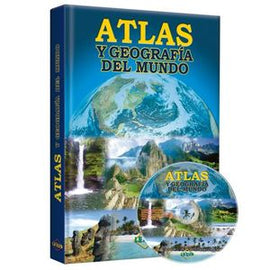 ATLAS Y GEOGRAFIA DEL MUNDO / PD. (INCLUYE CD)