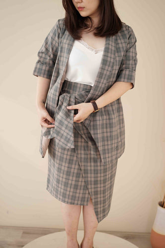 Wrap Knot Skirt - [product_variant] - [vendor]- Kotoko