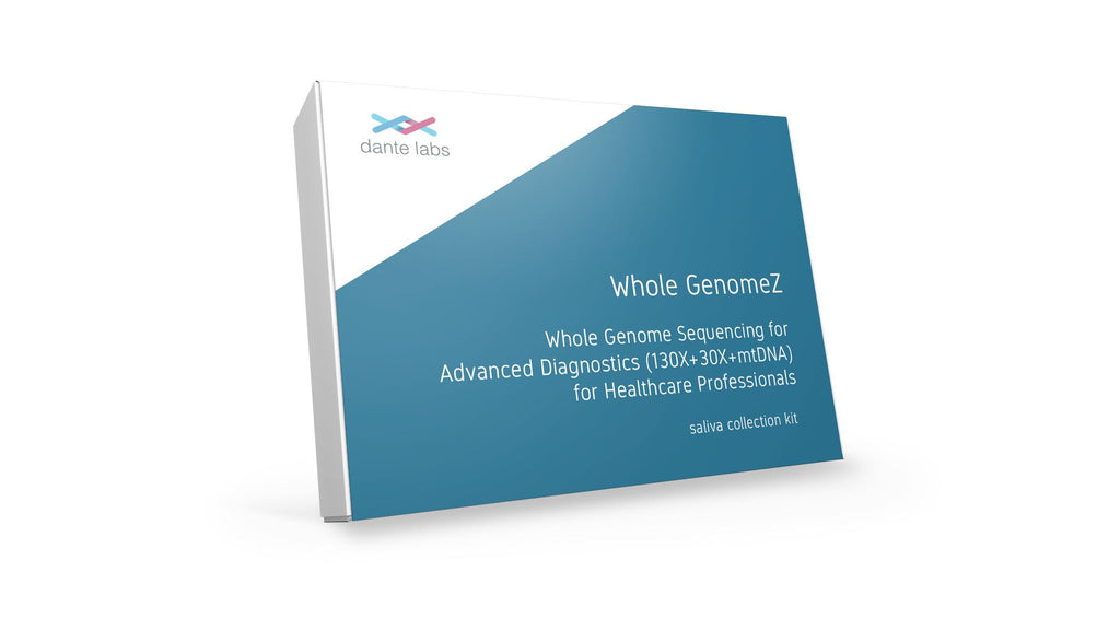 Whole GenomeZ - Whole Genome Sequencing for Advanced Diagnostics (130X + 30X +mtDNA) for Healthcare Professionnels - Dante Labs