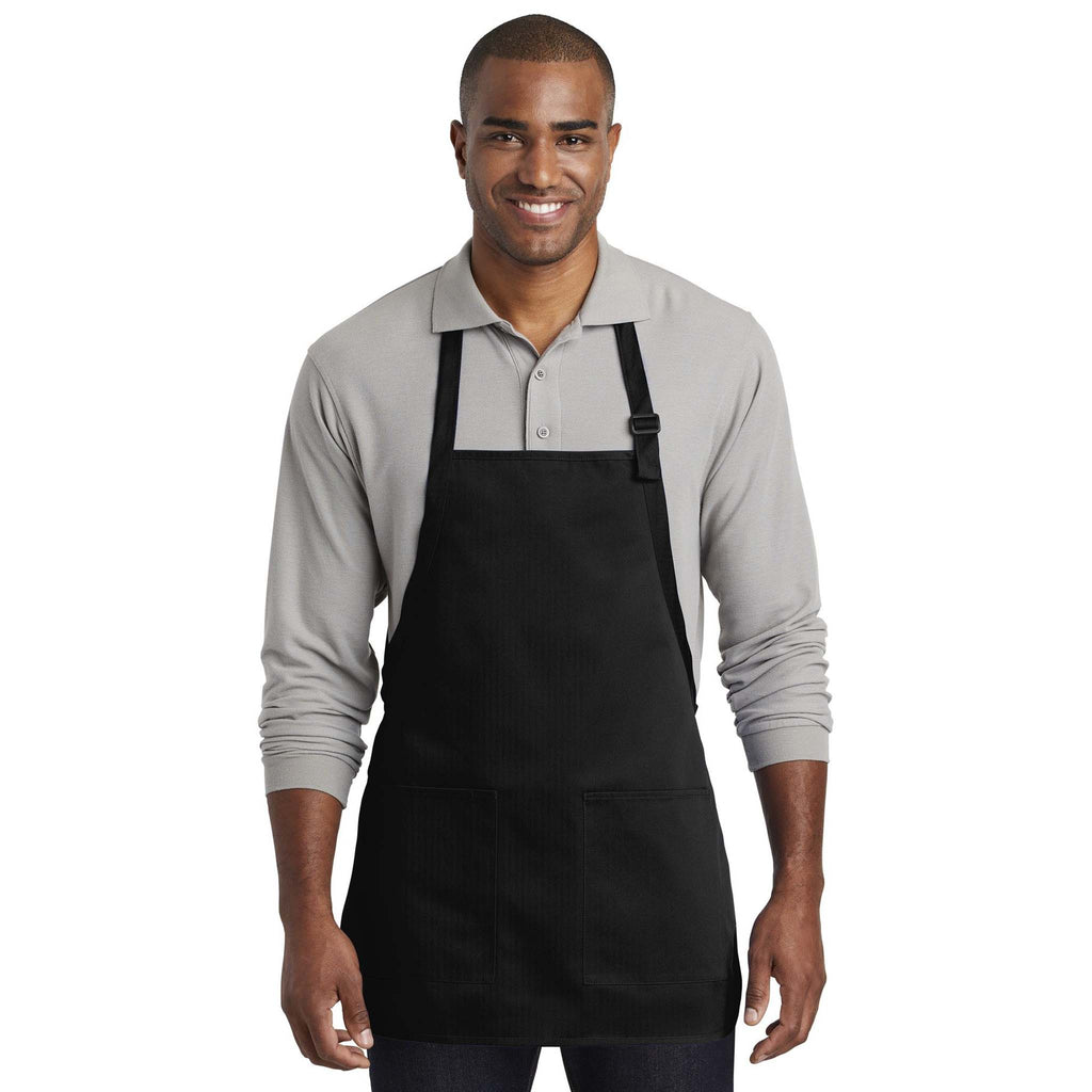 Port Authority Medium-Length Two-Pocket Bib Apron