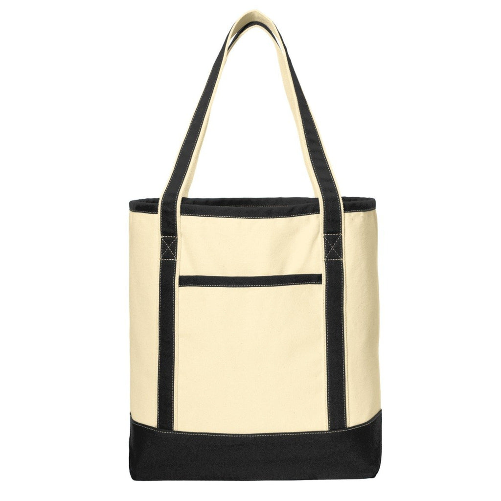 Port Authority Large Cotton Canvas Boat Tote