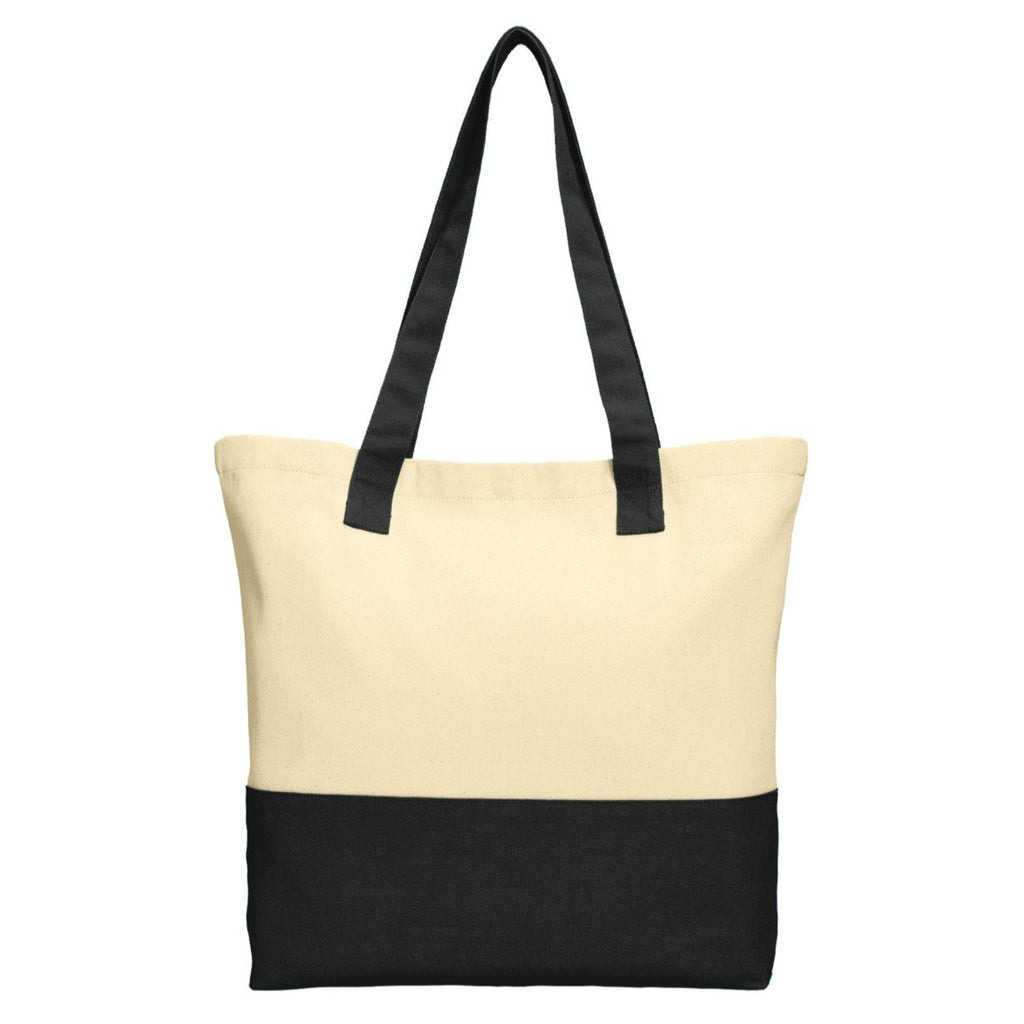 Port Authority Colorblock Cotton Tote