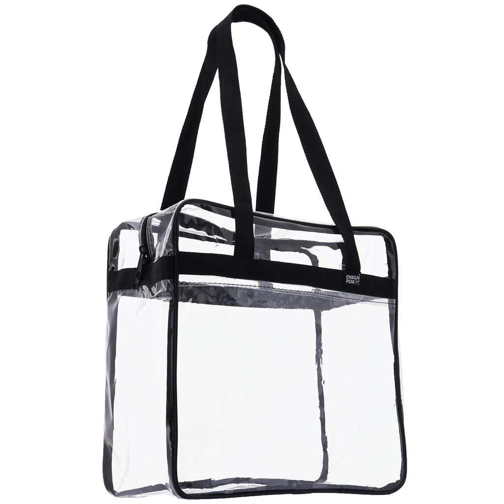 Ensign Peak Clear NFL Zipper Tote