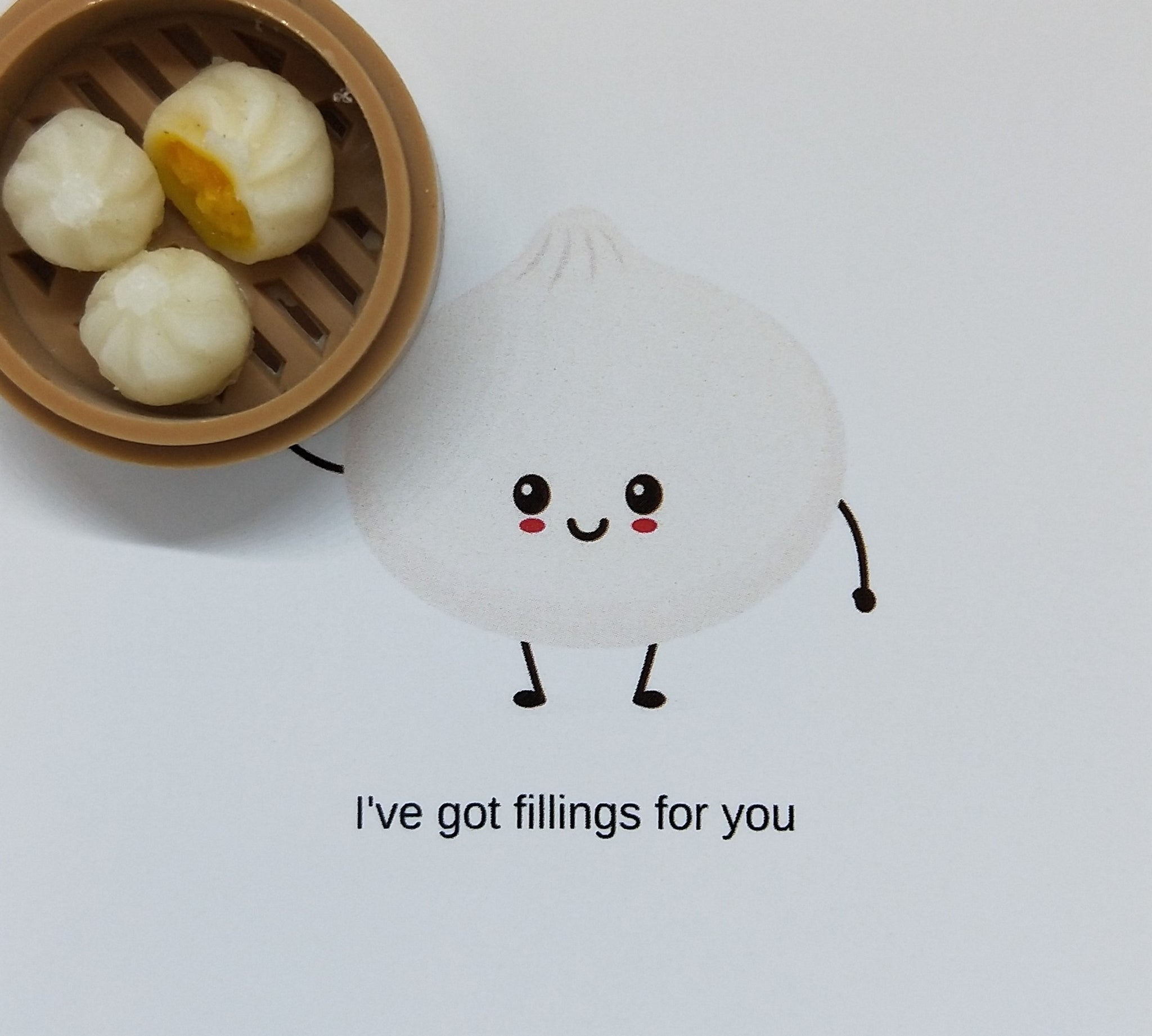 Pin-Card ~ I've got fillings for you