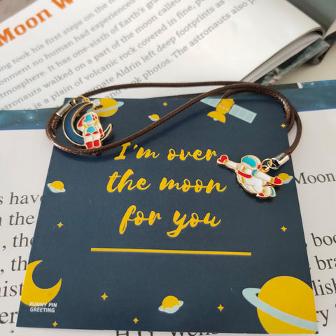 Book Mark-Card ~ I'm Over the Moon for You