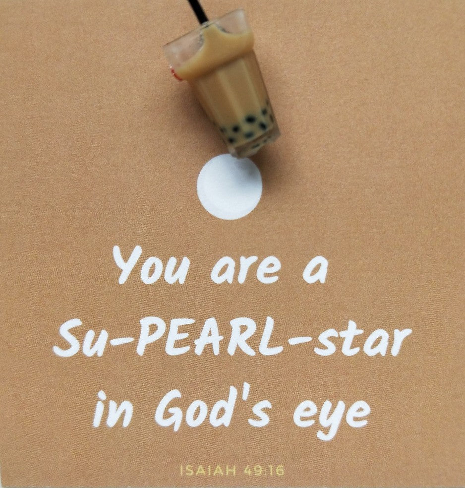 Pin-Card ~ You are a Su-PEARL-star in God's eye