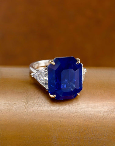 The Crown of Kashmir Sapphire Bayco