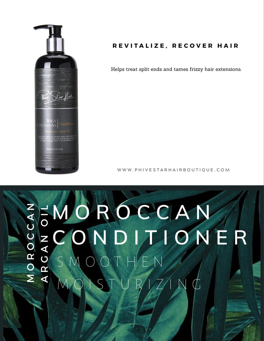 Moroccan Argan Oil Conditioner - PhivestarhairboutiqueMoroccan Argan Oil Conditioner
